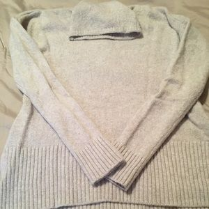 Lou & grey funnel neck tunic sweater